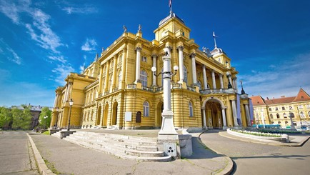 Filming locations in Croatia - Theater Zagreb