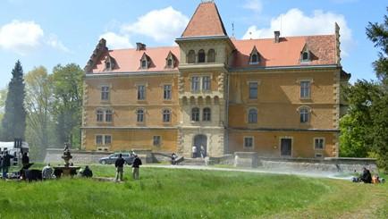 Castle for shooting in Croatia