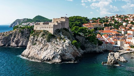 Castle Lovrijenac - Filming locations in Dubrovnik